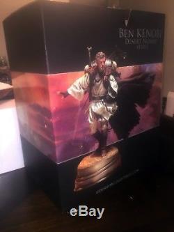 Obi Wan Ben Kenobi Star Wars Mythos Statue Sideshow Collectibles #1282/2000