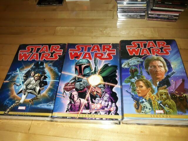 Original Marvel Years Star Wars Omnibus Lot Of 3