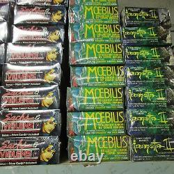 PALLET LOT Comic Fantasy Art Sci-fi Trading Card 100 Boxes Comic Liquidation Lot