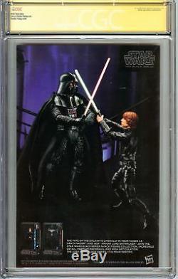 Princess Leia #1 CGC 9.8 NM/MT SS 2x STAN LEE & SKOTTIE YOUNG Variant Star Wars