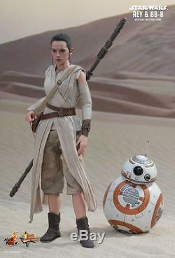 REY & BB-8 12 Figure by Hot Toys STAR WARS THE FORCE AWAKENS MOVIE