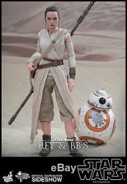 REY & BB-8 12 Figure by SideshowithHot Toys STAR WARS THE FORCE AWAKENS MOVIE