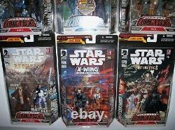 Retired rare Star Wars 30th Anniversary Exp Universe 12 Figure COMIC PACKS Lot