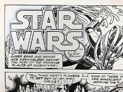 Russ Manning Star Wars Sunday Comic Strip Original Art 9/2 #26 Daily La Times