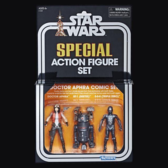 Sdcc 2018 Star Wars Hasbro Doctor Aphra Comic Set Vintage