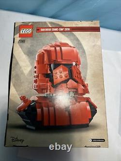 SDCC 2019 Comic-Con Exclusive Lego Star Wars Sith Trooper Bust 77901 # Sample