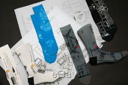 SDCC 2019 Star Wars STANCE Socks Blueprint 4-Pack LE Comic Con Exclusive