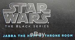 SDCC Comic Con 2014 Exclusive Hasbro Star Wars Black Jabba The Hutt Throne MIB
