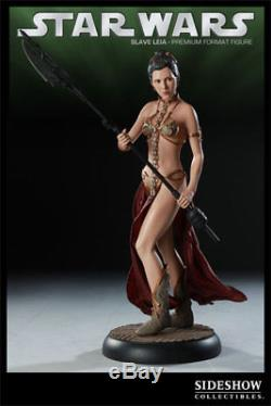 SIDESHOW COLLECTIBLES Slave Leia Premium Format Figure Statue 168/750 star wars