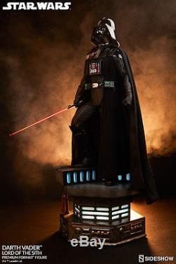Sideshow Pf 1/4 Scale Darth Vader Figure Star Wars Lord Of The Sith #300093
