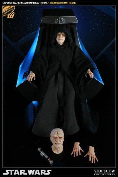 Sideshow Star Wars Exclusive Emperor Palpatine & Imperial Throne Premium Format