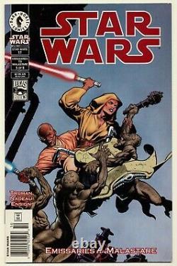 STAR WARS #17 Dark Horse Comics 2000! 1st App QUINLAN VOS RARE NEWSSTAND EDITION