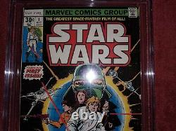 STAR WARS #1 1977 CGC 9.0 White Pages Marvel Comics