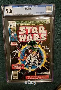 Star Wars #1 1977 Marvel Comics Cgc 9.6 Darth Vader Luke Skywalker