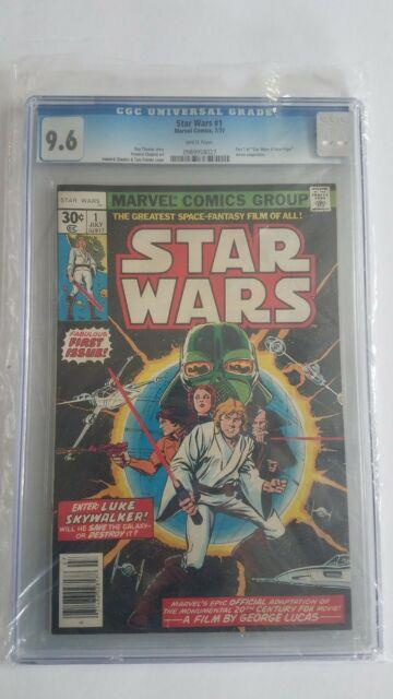 Star Wars #1 7/77 (jul 1977, Marvel) Cgc 9.6 White Pages Star Wars A New Hope