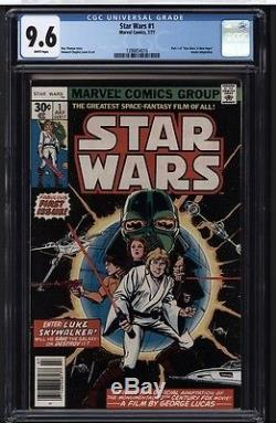 STAR WARS #1 CGC 9.6 WP Marvel Comics 7/77 Darth Vader Episode VII Rogue One