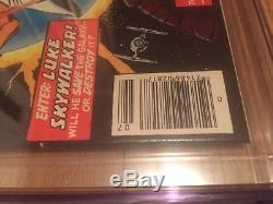 STAR WARS #1 CGC 9.8 1977 Near Mint/Mint A New Hope 1st ISSUE KEY