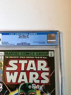 STAR WARS #1 Comic Book 1977- First Print CGC graded 9.6. Just received from CGC
