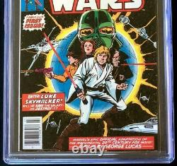 STAR WARS #1 (Marvel 1977) CGC 8.0 1st Print! A New Hope Part One Comic