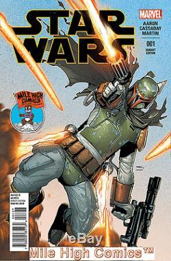 STAR WARS (2015 series) #1 MILE HIGH COMICS VARIANT NEAR MINT COMIC BOOK