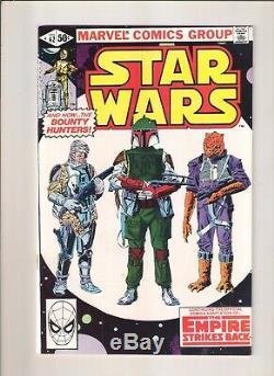 STAR WARS #42 VF/NM 1st APPEARANCE BOBA FETT MANDALORIAN Marvel 1980