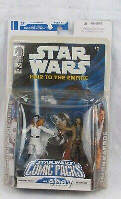 STAR WARS Comic Packs #9 Heir To The Empire 1 Comic Thrawn & Karrade