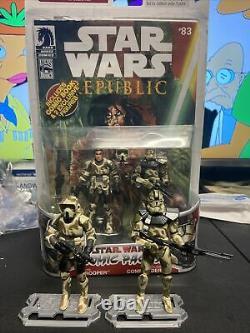 STAR WARS Comic Packs #9 REPUBLIC #83 Bogey Squad Exar Kun Wave Very Rare