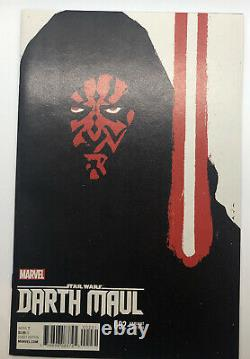 STAR WARS DARTH MAUL #2 DAVID AJA VARIANT COVER MARVEL COMIC BOOK (see Pics)