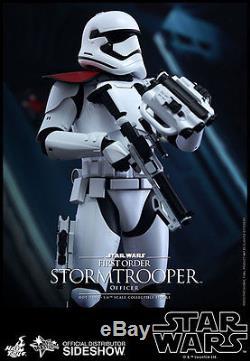 STAR WARS FORCE AWAKENS 1st ORDER STORMTROOPER OFFICER 1/6 SCALE FIGURE HOT TOYS