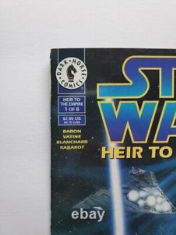 STAR WARS HEIR TO THE EMPIRE #1 DARK HORSE COMICS 1st THRAWN, MARA JADE 1995