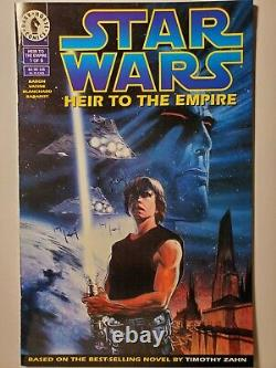STAR WARS HEIR TO THE EMPIRE 1, First Appearance of Thrawn! DARK HORSE COMICS