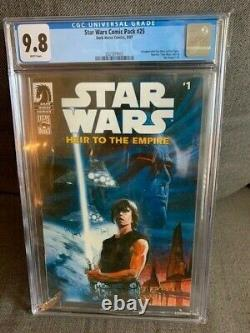 STAR WARS Heir to the Empire 1 comic pack 25 CGC 9.8 Mint 1st Appearance THRAWN