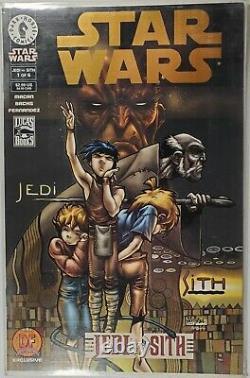 STAR WARS JEDI VS. SITH #1 Gold variant Dynamic Forces, Limited Darth Bane