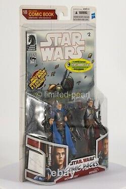 STAR WARS Jaster Mereel & Montross Legacy Comic Packs #18 Open Season + Case