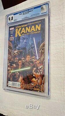 STAR WARS Kanan The Last Padawan #1 CGC 9.8 1st App Kanan, Ezra, Sabine. Disney+