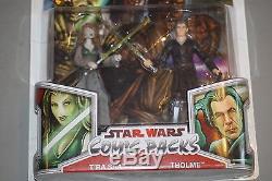 Star Wars Legacy Saga Comic Pack Republic Jedi Masters T'ra Saa Tholme Moc 2pack