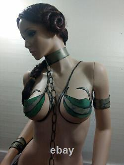 STAR WARS LIFE SIZE Carrie Fisher SLAVE Princess Leia Jedi Super SEXY STATUE WOW