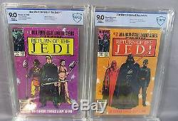 STAR WARS RETURN OF THE JEDI #1 2 3 4 (Full Run) CBCS Graded Marvel 1983 cgc