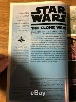 STAR WARS THE CLONE WARS #1 1st Ahsoka Tano Dark Horse 100 Special Edition