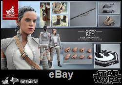 Star Wars The Force Awakens Rey Resistance Outfit 1/6 Scale Figure Hot Toys Excl