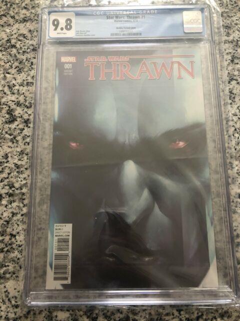 Star Wars Thrawn #1 Cgc 9.8 150 Francesco Mattina Variant Cover