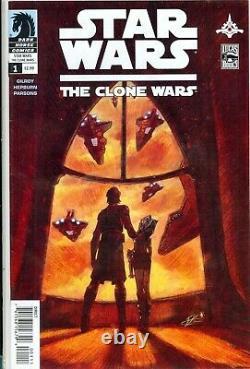 STAR WARS the CLONE WARS #1 KEY 1st AHSOKA TANO (Mandolorian) VF/NM (9.0)