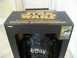 San Diego Comic Con exclusive 31 Star Wars Jakks Pacific Shadow Storm Trooper