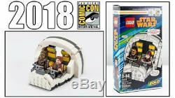 Sdcc Comic Con 2018 Lego Star Wars Solo Millenium Falcon Cockpit 75512 Exclusive