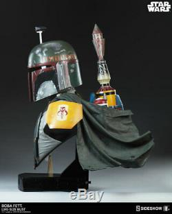 Sideshow Collectibles Star Wars BOBA FETT Life-Size 11 Scale Bust