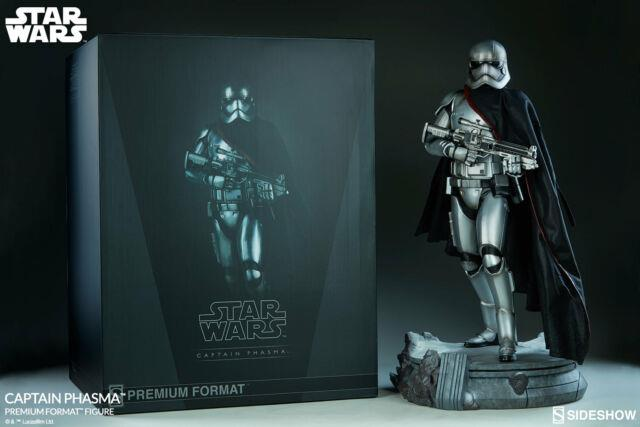Sideshow Collectibles Star Wars Captain Phasma Premium Format 1/4th Scale Statue