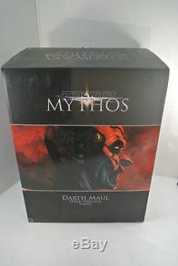 Sideshow Collectibles Star Wars Mythos Darth Maul Dark Disciple 18 Statue NEW