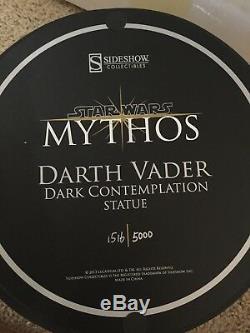 Sideshow Darth Vader Star Wars Mythos Statue #1516 Of 5000