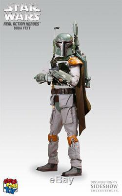 Sideshow Medicom Toy RAH Real Action Heroes Star Wars Boba Fett 1/6 12 figure
