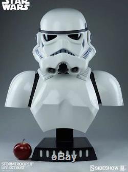 Sideshow Star Wars 11 Life Size Bust Stormtrooper Storm Trooper MIB